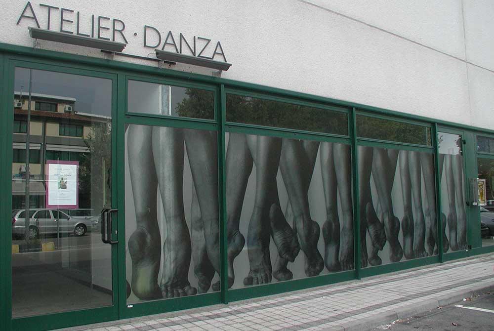 vetrofanie atelier danza rovigo