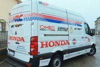 decorazioni automezzi honda hcr furgoni