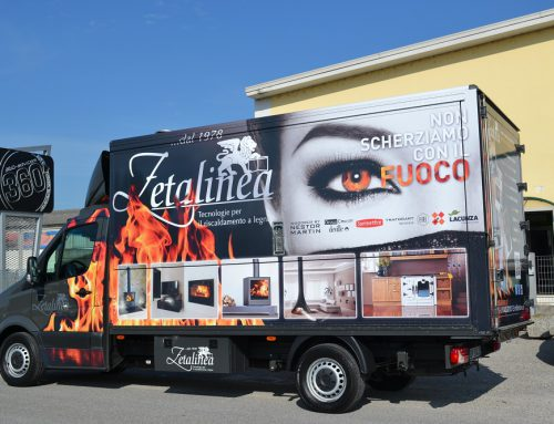 CAR WRAPPING DI CAMION CON 360 ADVERTISING FACTORY