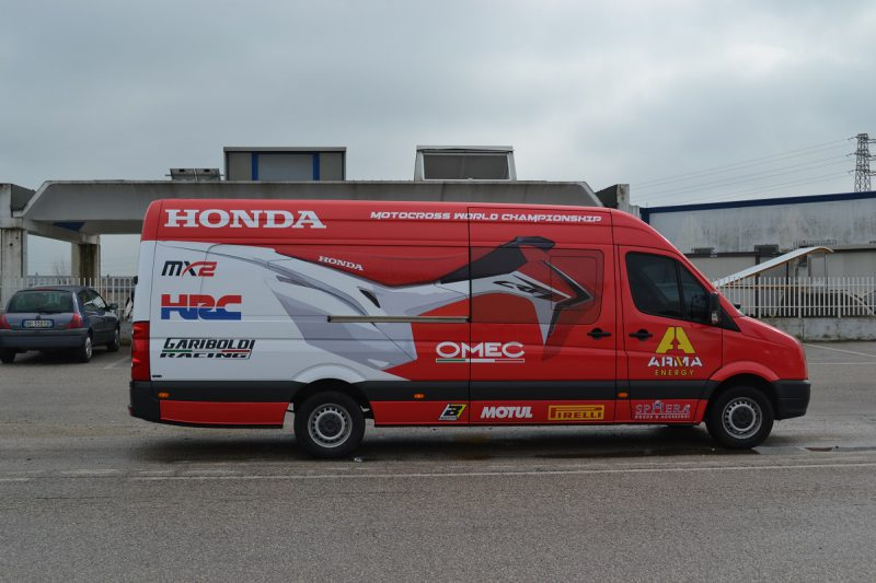 car wrapping camion