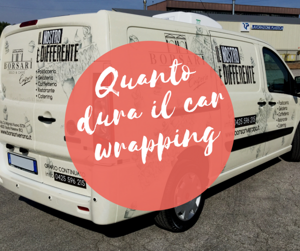 quanto dura il car wrapping